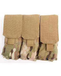 Dragon MOLLE Triple 5.56 Mag Pouch
