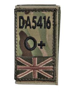Wrap Around Zap Badge for Body Armour