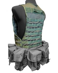 Tailoring Full Molle on Existing Assault Vest