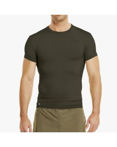 Under Armor Heatgear Short Sleeve Shirt Olive